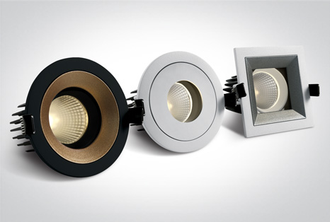 04 Recessed Spots Adjustable LED